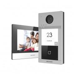 Kit interphone vidéo IP antivandale Hikvision DS-KIS604-S