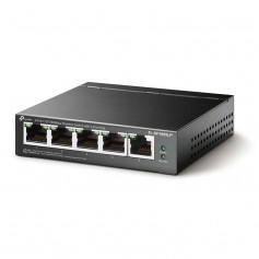 Switch PoE 5 ports TP-Link TL-SF1005LP dont 4 ports PoE longue distance