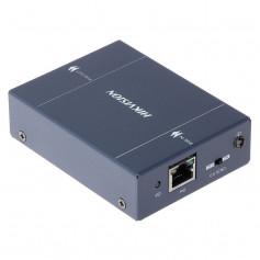 Répéteur PoE Hikvision DS-1H34-0102P pour 2 caméras IP