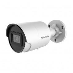 Caméra IP 4MP H265+ AcuSense 2.0 Hikvision DS-2CD2046G2-IU powered by darkfighter IR 40 mètres