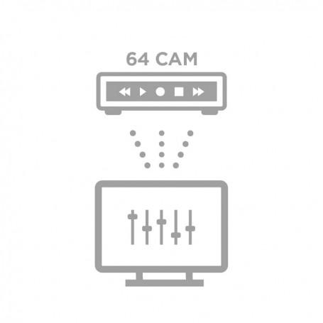Configuration à distance NVR 64 caméras