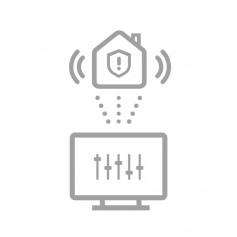 Configuration à distance alarme sans fil